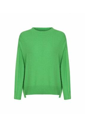 İpekyol Kadın Yeşil Basic Triko