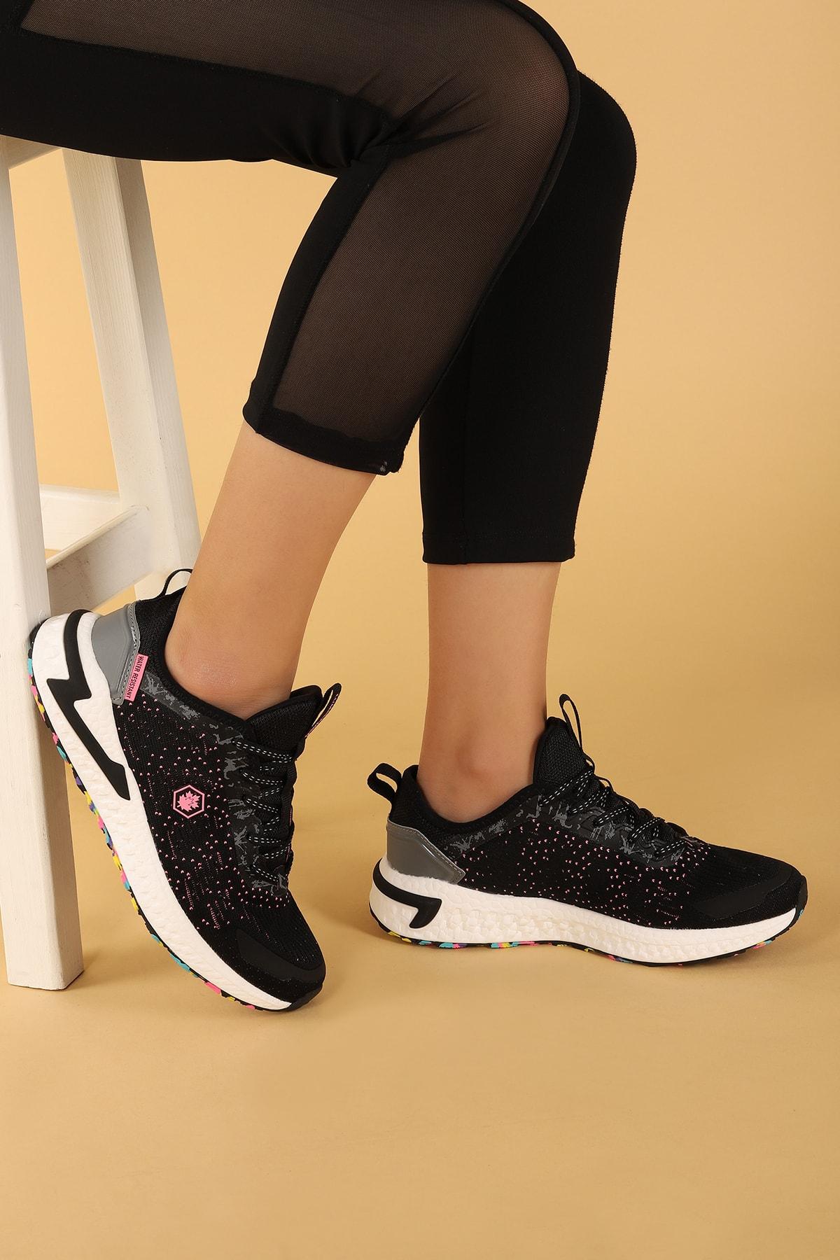 lumberjack Kadın Siyah Spor Ayakkabı 2