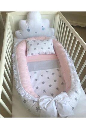 Gönül Kolat Kız Bebek Beyaz Pembe Yatak
