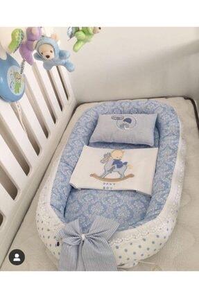 Gönül Kolat Erkek Bebek Mavi Anne Yanı