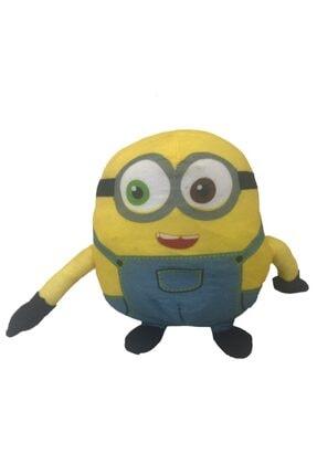 Minions Bob Peluş Çiftgöz Kısa 18 cm
