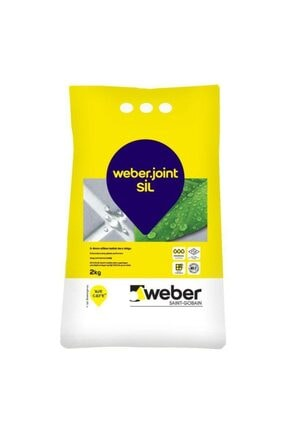 WEBER Beyaz Silikonlu 1 kg Derz Dolgu