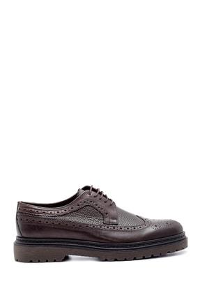 Derimod Erkek Kahverengi Deri Casual Ayakkabı