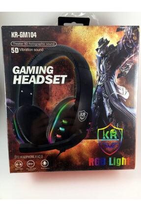 KR Rgb Light Gm104 Miofonlu Kulaküstü Oyun Kulaklığı