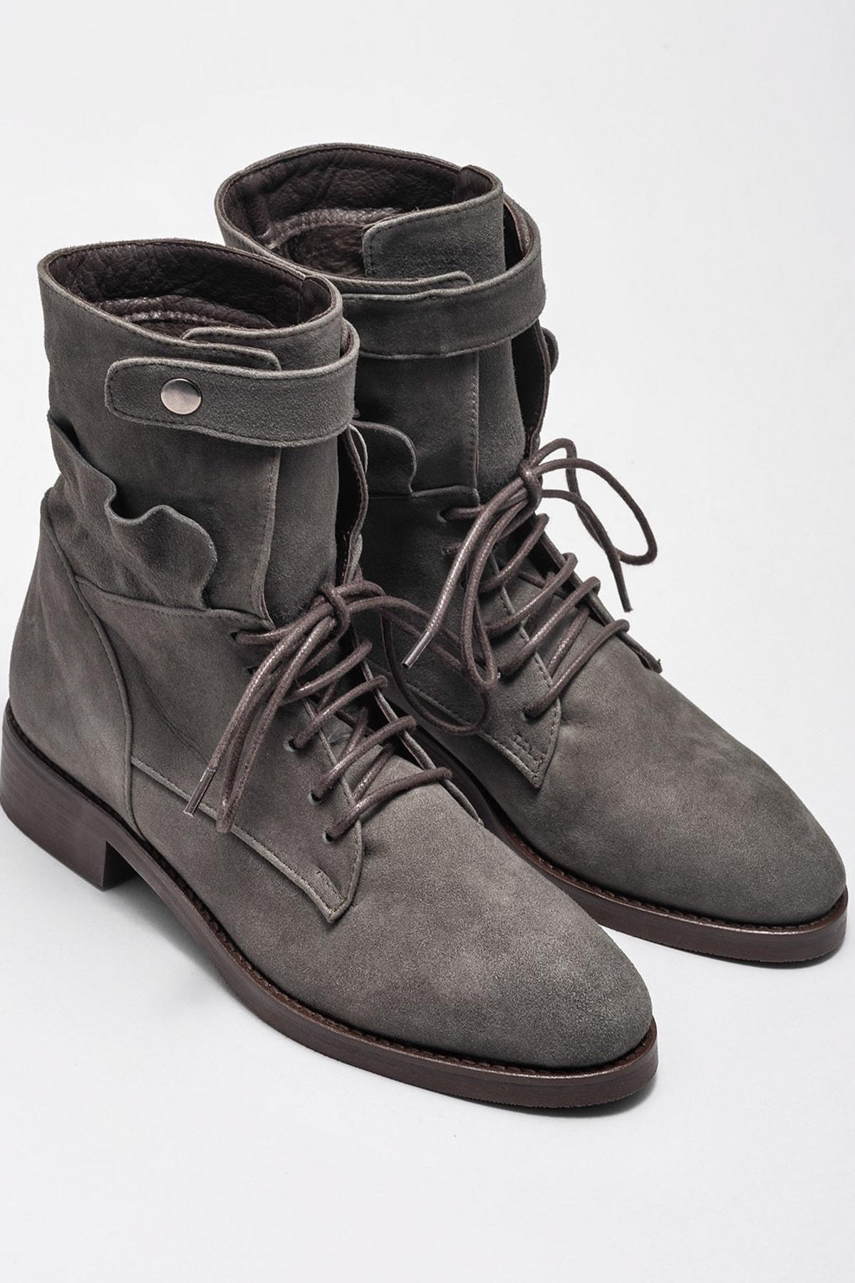 Elle Shoes Kadın Bot & Bootie Rosette-1 20KRE608 2