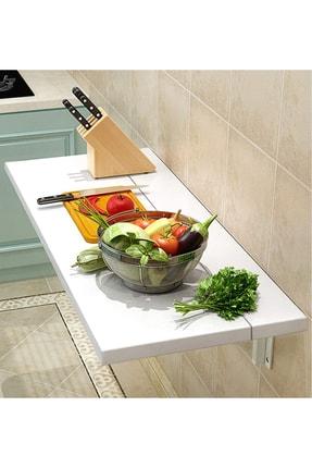 Ankaflex Ahşap Duvara Monteli Katlanır Mutfak Masası 60*90 cm