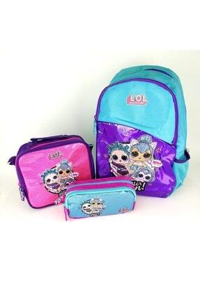 Dönmezler Lol Bebek Okul Çantası Set-çanta-beslenme-kalem Kutu Karışık Set