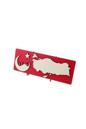 agaç hediyelik Ahşap Mdf Türkiye Haritasi Isimlik