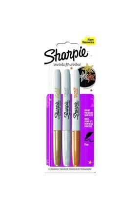 Sharpie Metalik Permanent Marker 3 Renk 1849114