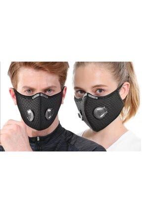 Wedo Aktif Karbon Filtreli Bisikletçi ve sporcu Maskesi