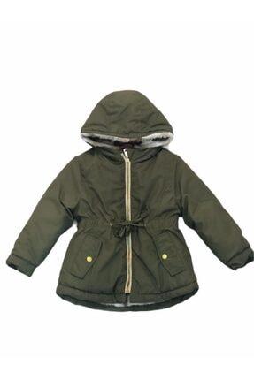 Midimod Kız Çocuk Yeşil Mont