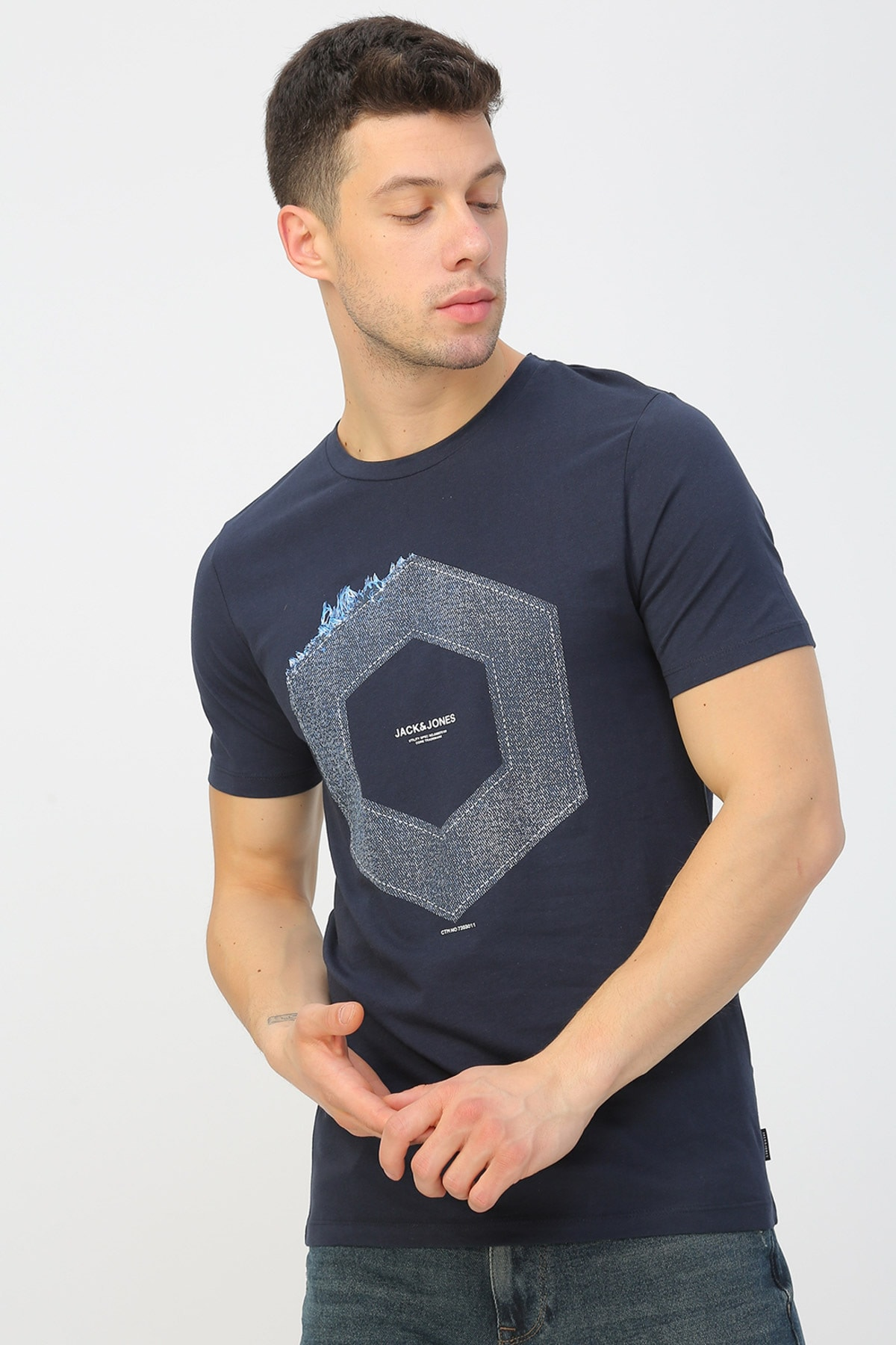 Jack & Jones T-Shirt - Tutan Core Tee SS Crew Neck 12167185 2