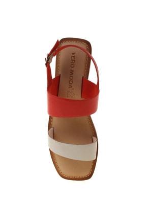 Vero Moda Kadın Kırmızı Sandalet 504827633