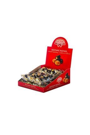 Kardelen 10'lu Baklava Dilimli Çikolatalı Kestane Şekeri