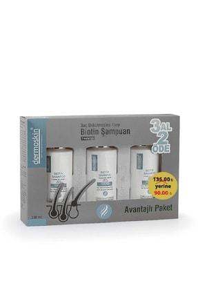 Dermoskin Biotin Şampuan 3 AL 2 ÖDE KOFRE ERKEK 200 ml