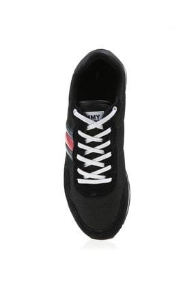Tommy Hilfiger Erkek Siyah Spor Ayakkabı Em0em00399-bds