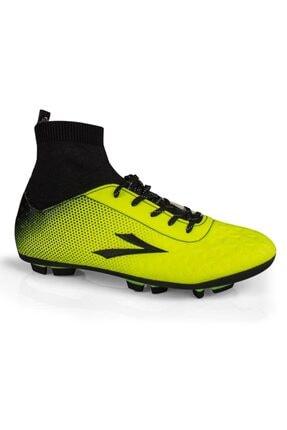 LIG Erkek Çocuk Sarı Simav Çoraplı Krampon Ayakakabısı Fosfor