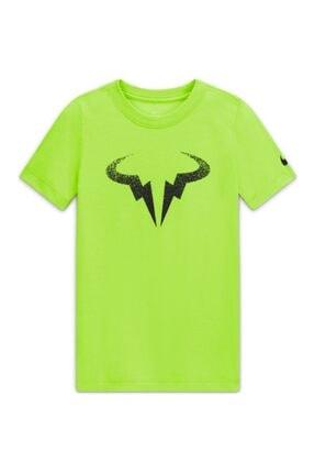 Nike Erkek Çocuk Rafa B Nkct Tee Db Nadal Spor T-Shirt Cw1521-702