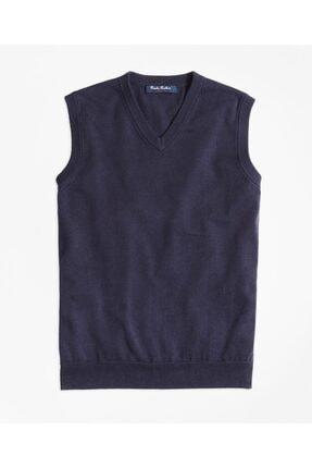 BROOKS BROTHERS Navy Sweater Vest