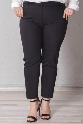 Zafoni Kadın Siyah Pantolon