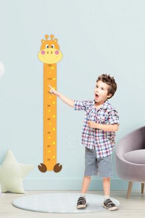 Tilki Dünyası Sevimli Tombik Zürafa Boy Cetveli