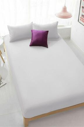 VAROL Beyaz Penye Outlet Çarşaf 100x200