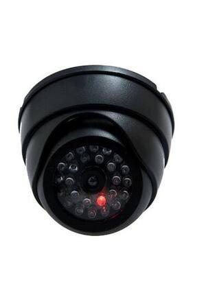pazarakos 2 Adet 360 Döner Başlıklı Ledli Sahte Dome Kamera Caydırıcı