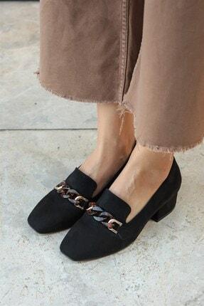 Mio Gusto Magnolia Siyah Topuklu Ayakkabı