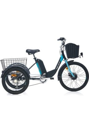 Mondial Carraro Elektrikli Üç Teker Elektrikli Bisiklet