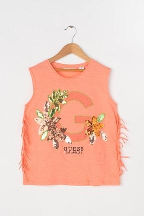 Guess Kız Çocuk Mercan T-Shirt J92I40