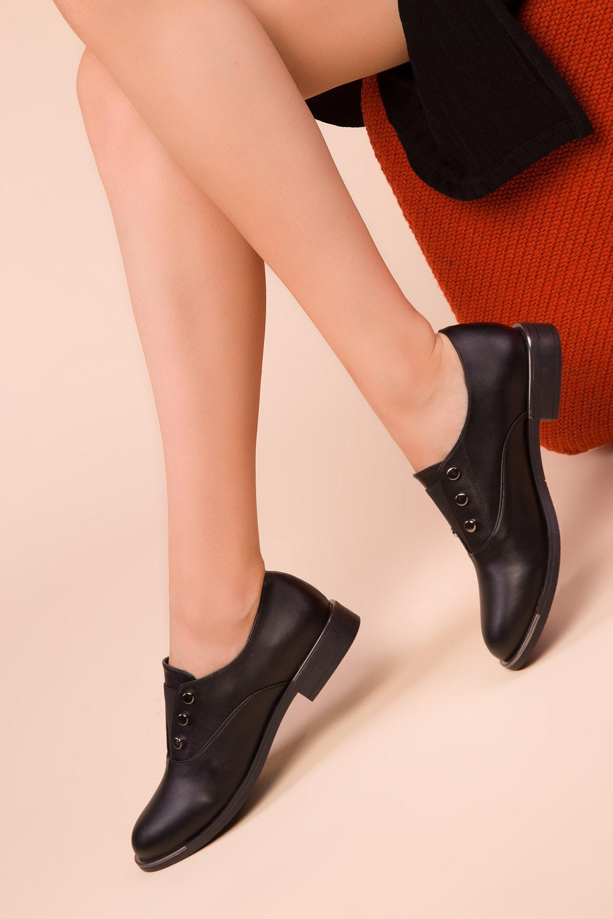 SOHO Siyah Kadın Casual Ayakkabı 15258 1