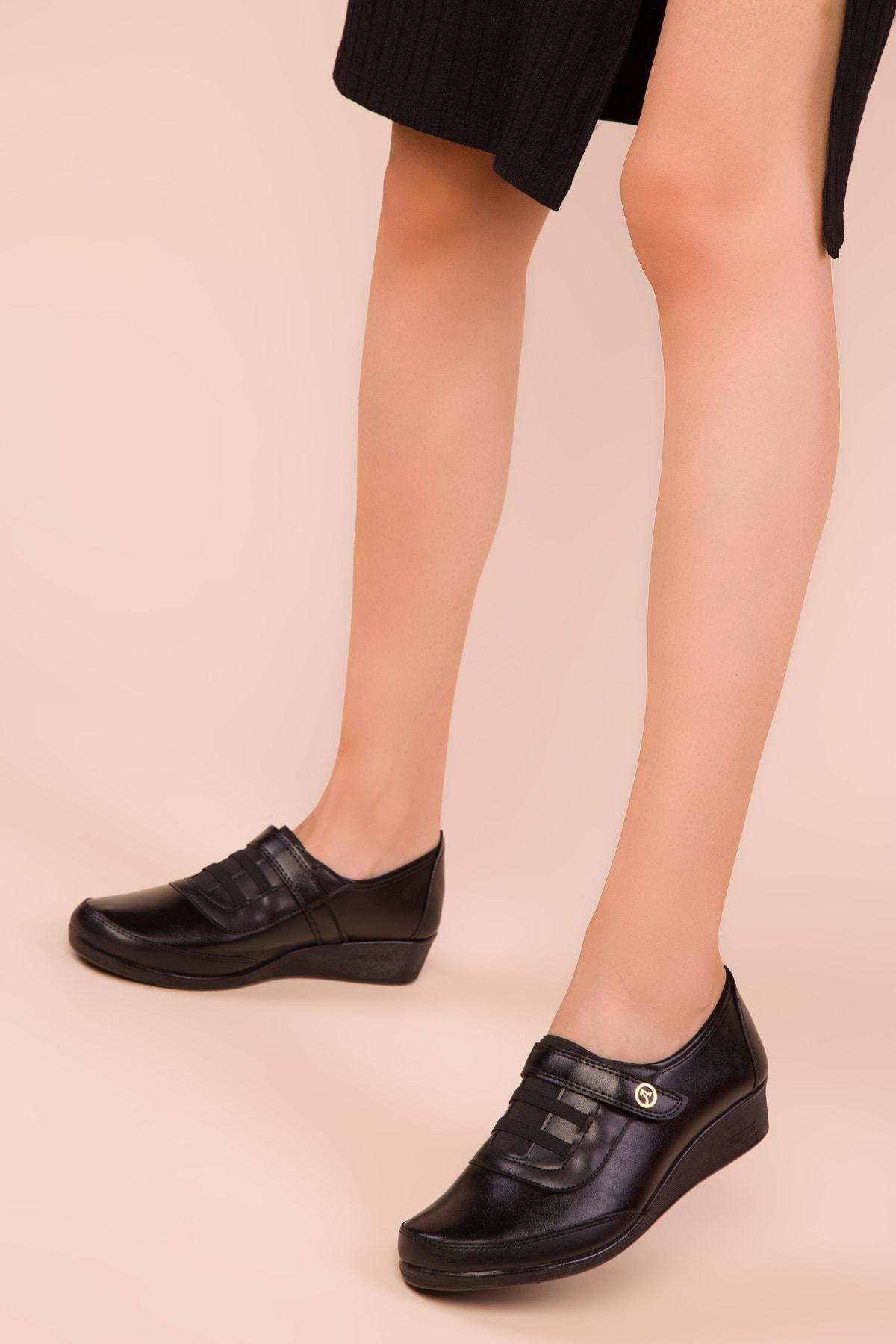 SOHO Siyah Kadın Casual Ayakkabı 15489 1