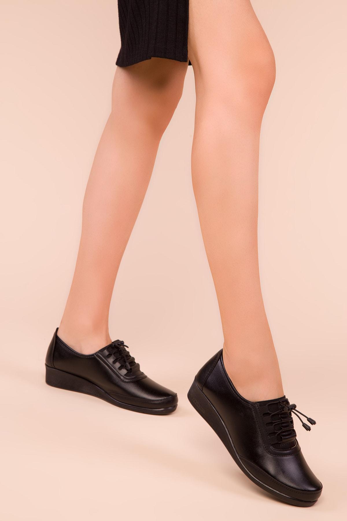 SOHO Siyah Kadın Casual Ayakkabı 15490 2