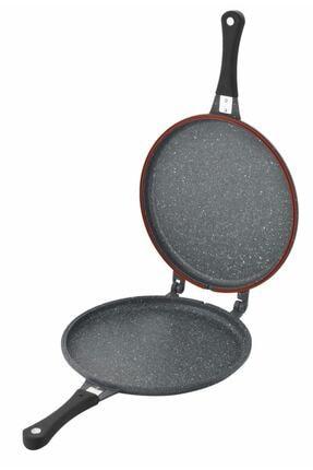 FALEZ 30 Cm Twin Pan Döküm Et Ve Balık Tavası