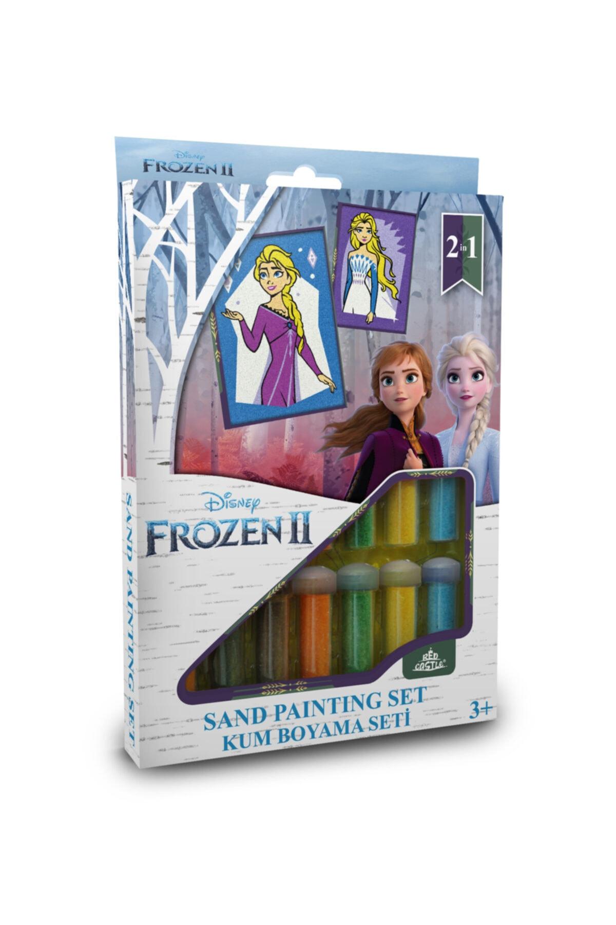 Red Castle Kum Boyama Aktivite Seti Karlar Ülkes Frozen Iı Elsa Anna 1