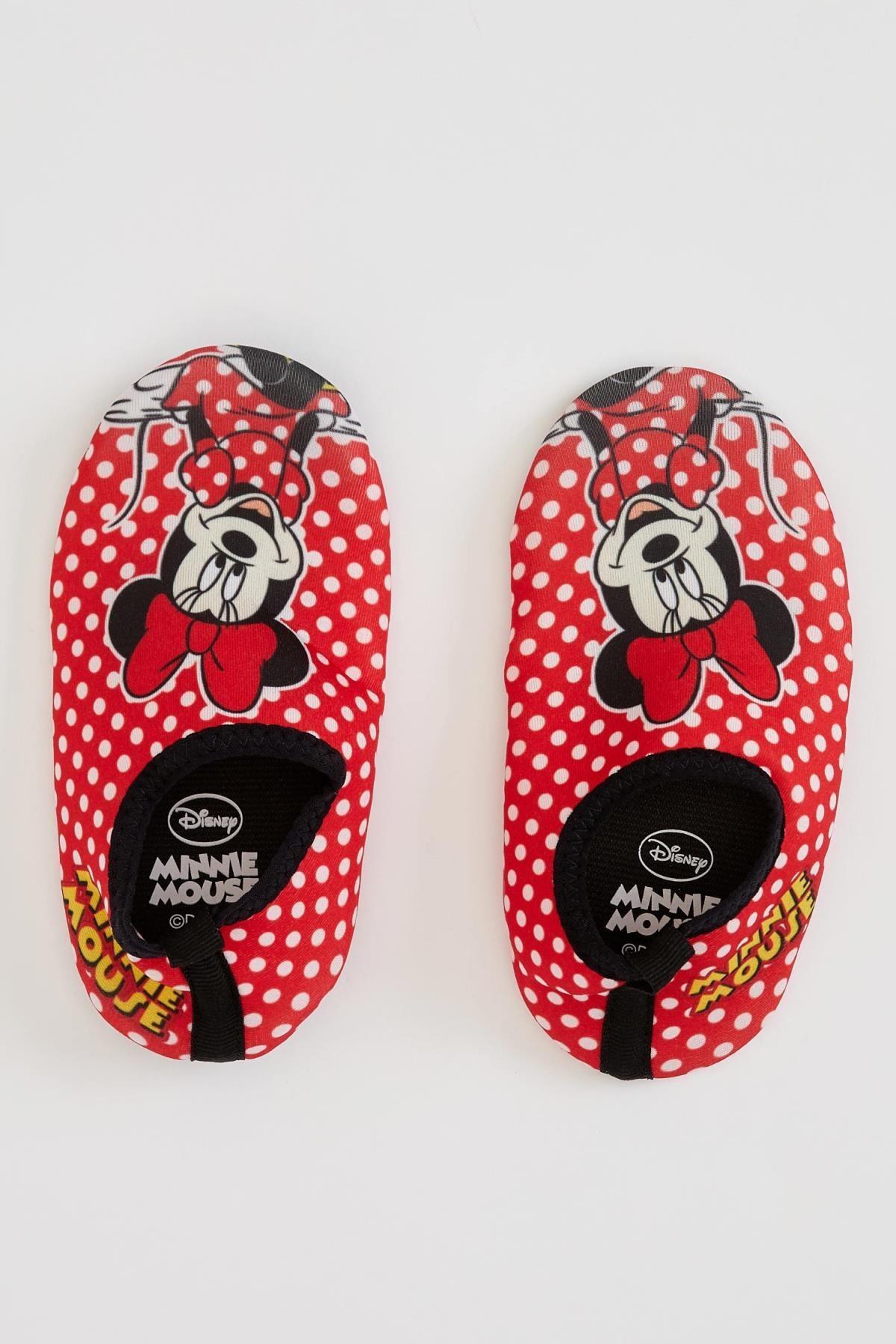 DeFacto Kız Çocuk Minnie Mouse Lisanslı Slip On Ayakkabı