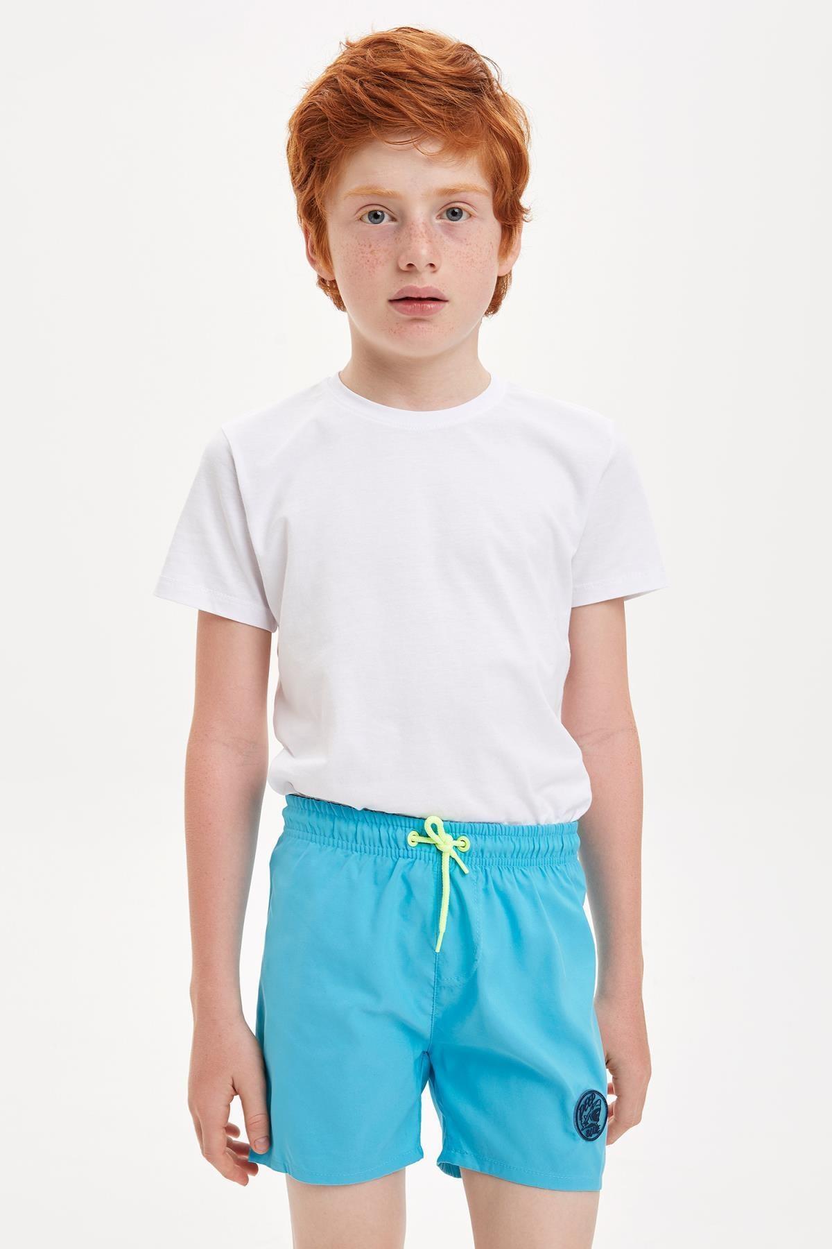DeFacto Erkek Çocuk Basic Deniz Şortu