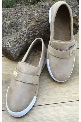 KEÇELİ Kadın Kışlık Süet Vizon Ayakkabı