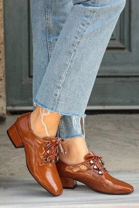 Mio Gusto Jasmine Taba Topuklu Ayakkabı
