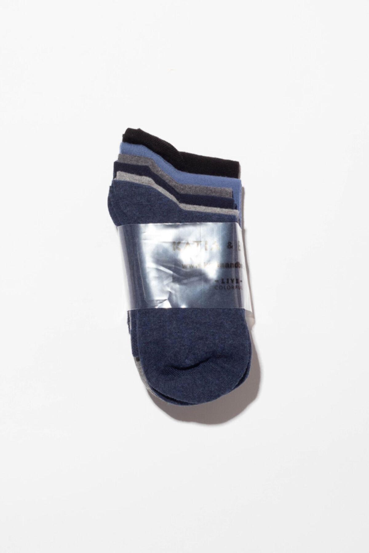 Katia&Bony Unisex 6'Lı Paket Basic Soket Çorap 2