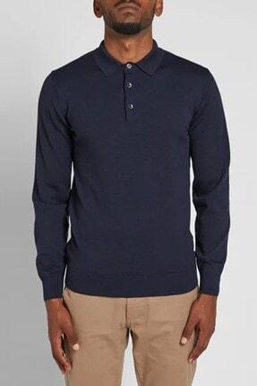 Barbour Erkek Lacivert Polo Yaka Tshirt