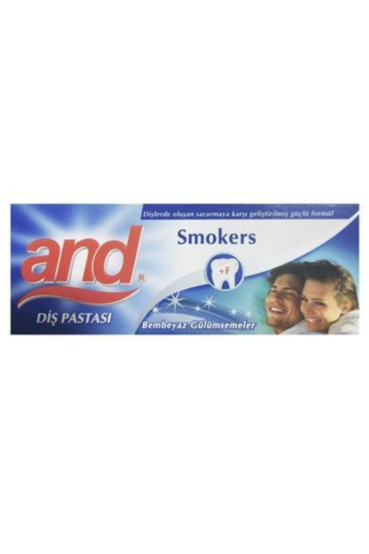Oral-B And Dıs Pastası Smokers 90 gr 1