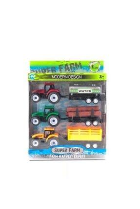 Birlik Kutuda 3lü Römorklu Traktör