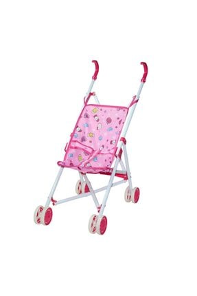 Can İthalat Poşetli Metal Oyuncak Bebek Arabası