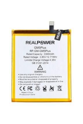 realpower Discovery Gm5 Plus Uyumlu Batarya Pil 3300mah Rp-gm-gm5plus