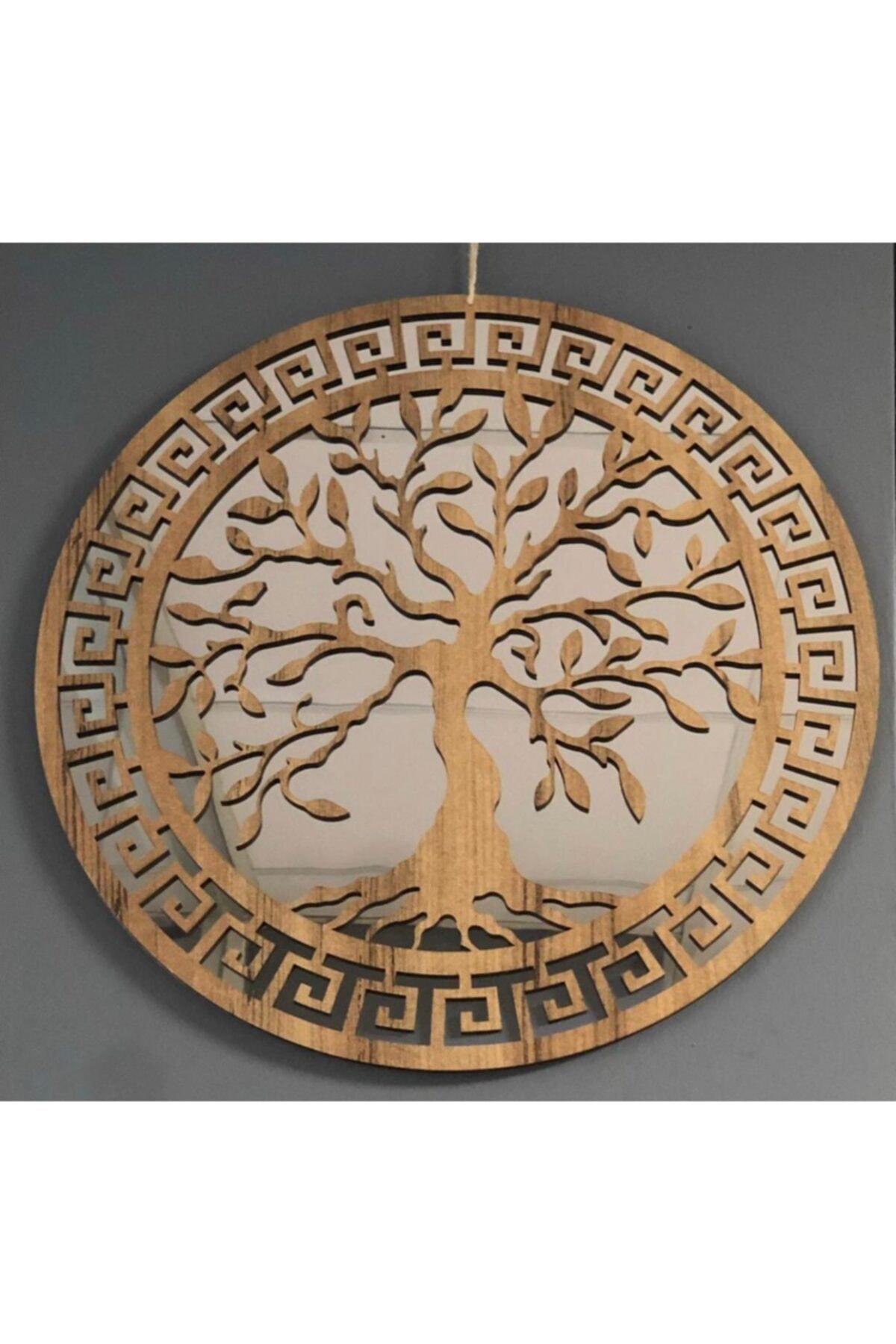 ONCA HEDİYELİK Yaşam Ağacı Dekoratif Ayna 1