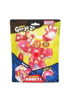 GIOCHI PREZIOSI Goojitzu Marvel Iron-man ( Demir Adam ) Stretch Figür Orijinal Ürün
