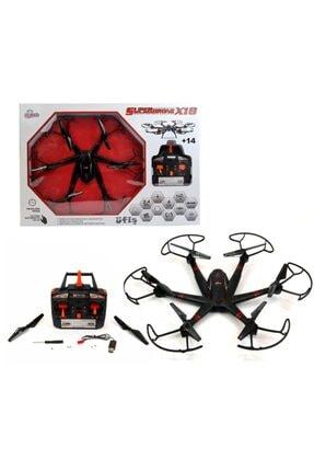 Vardem Büyük Boy Uzaktan Kumandalı Drone 2.4 Ghz Işıklı Aerodrone x 18 Helikopter Drone