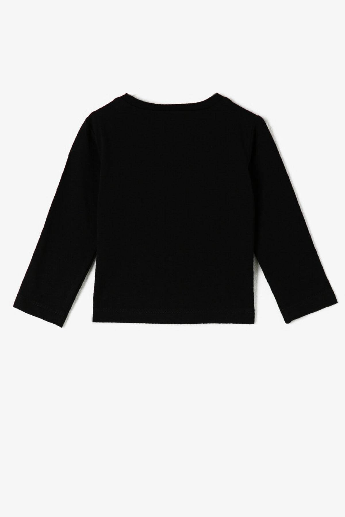 Koton Kids Siyah Erkek Bebek T-Shirt 2
