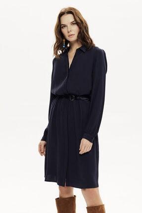 Naramaxx Kuşaklı Gömlek Elbise